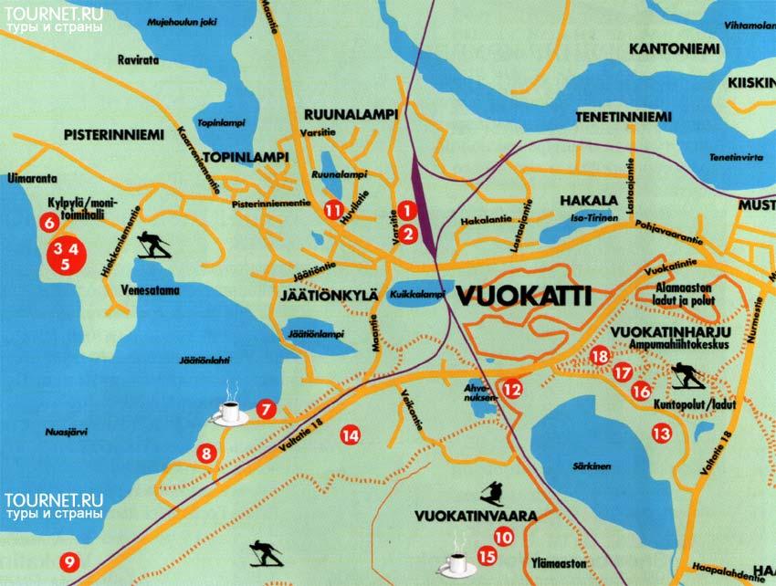карта Вуокатти