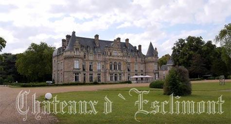Замок chateau d esclimont шато д эсклимон на